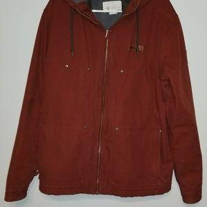 Red columbia medium weight jacket